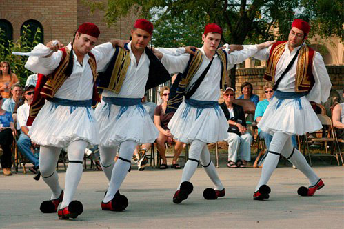 Folklore festivals in Athens