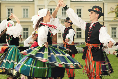 Folklore festivals in Warsaw